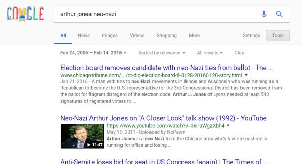 Arthur Jones Nazi